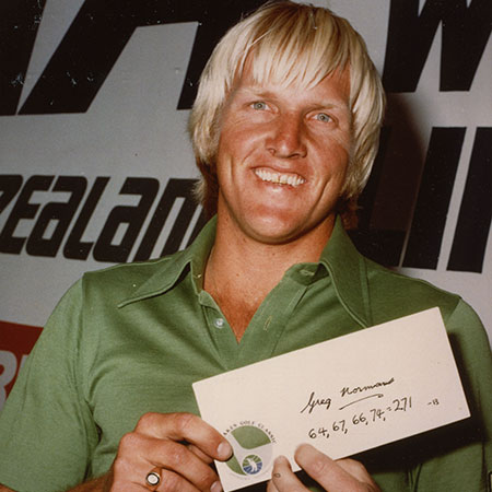 Greg Norman, 1976 West Lakes Classic