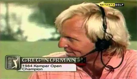 Greg Norman, 1984 Kemper Open