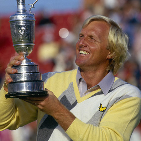 Greg Norman, 1986 British Open