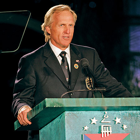 Greg Norman, World Golf Hall of Fame