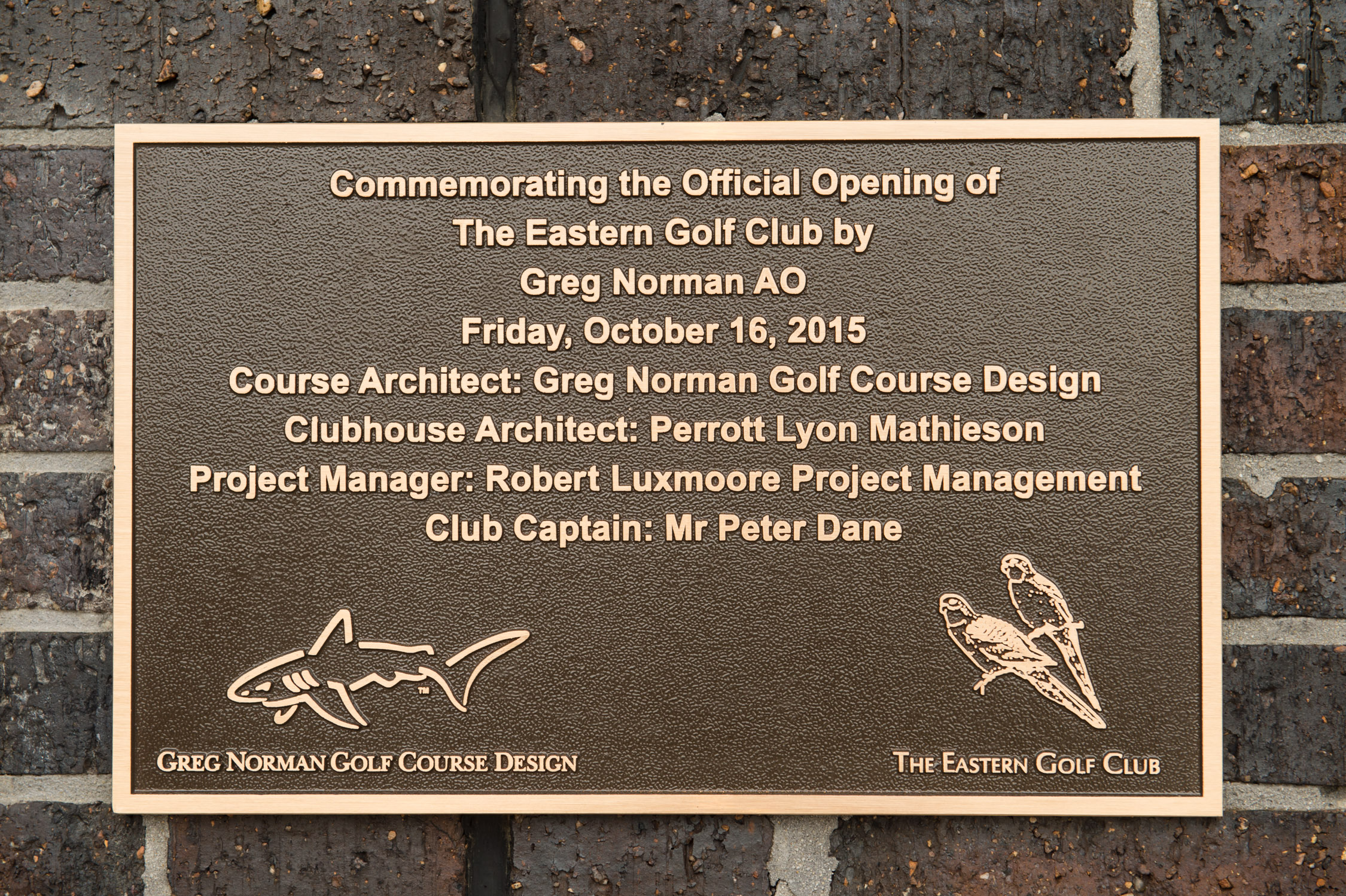 Eastern Golf Club Opening