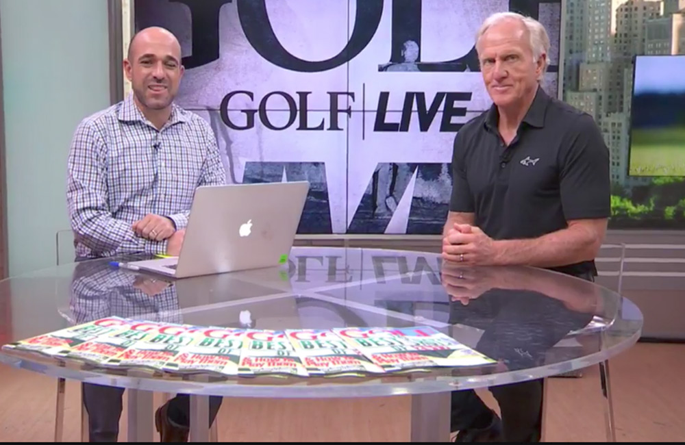 GOLF.com Facebook Live Interview