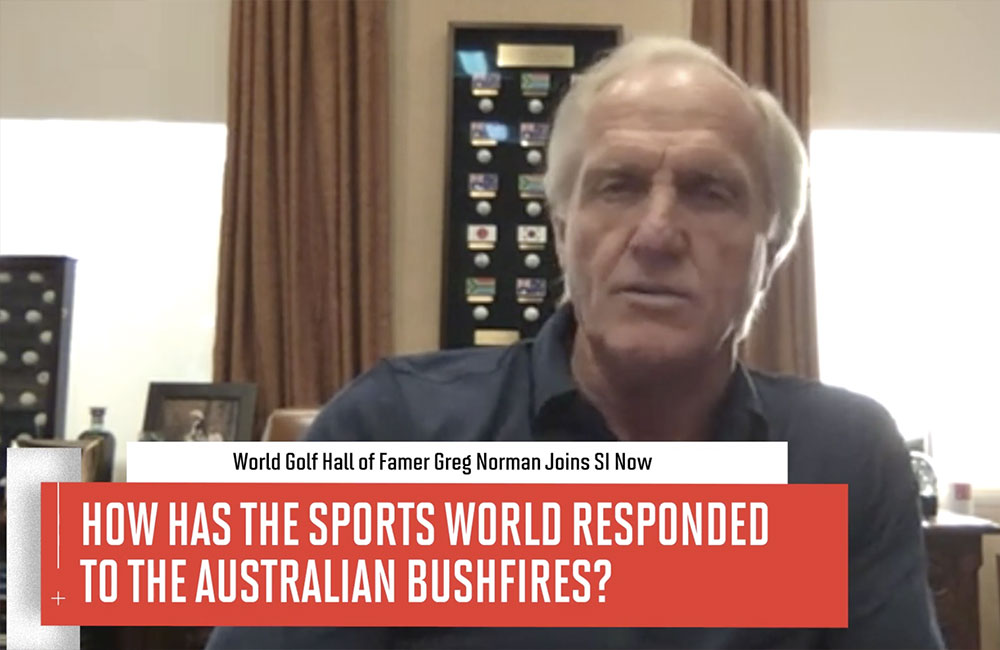 Norman Talks About The Bushfires With SI Now